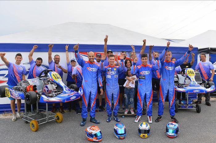 CKR super competitiva nel FIA Karting World Championship