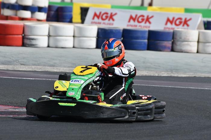 Victoria de la tercera ronda de Resistencia para el equipo de Bin Drai Karting en Dubai Kartdrome