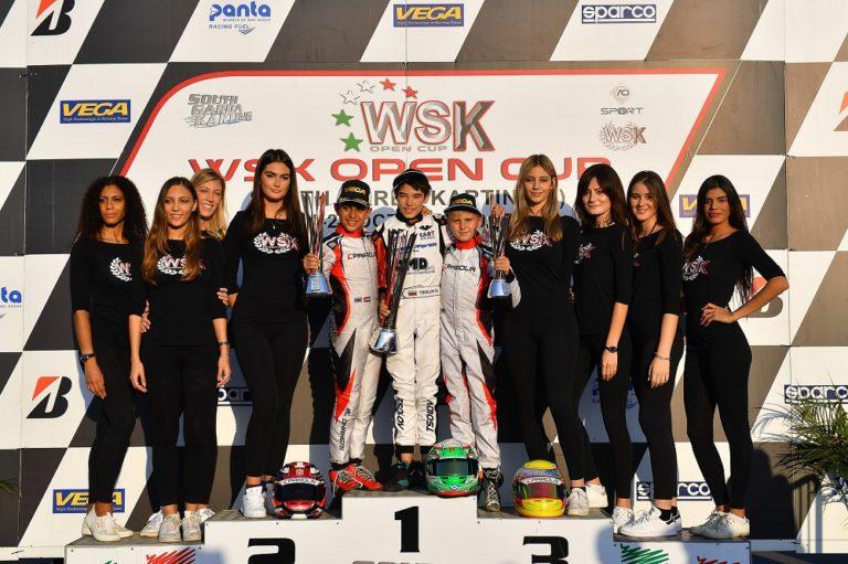 WSK Open Cup: Tsolov domina la finale di Mini a Lonato