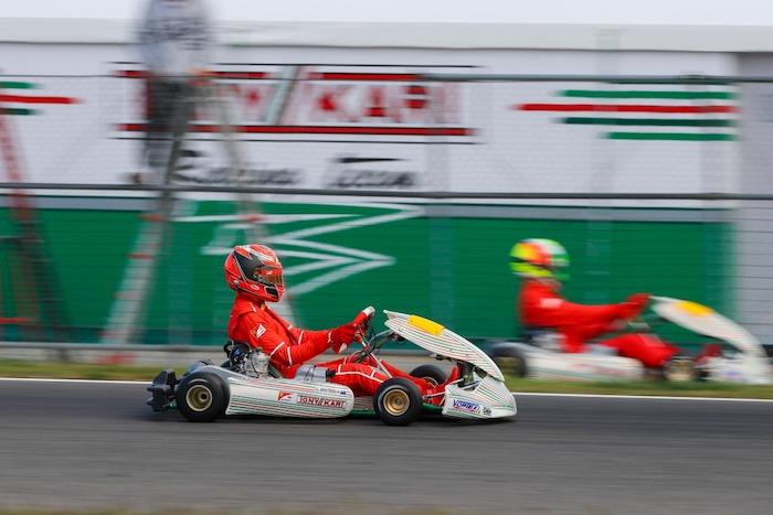 I piloti FDA in pista a Lonato con il Tony Kart Racing Team