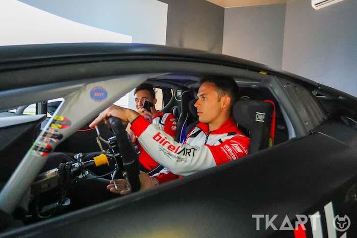 Kremers, Longhi e Beggio: sfida tra kartisti Campioni del Mondo al simulatore