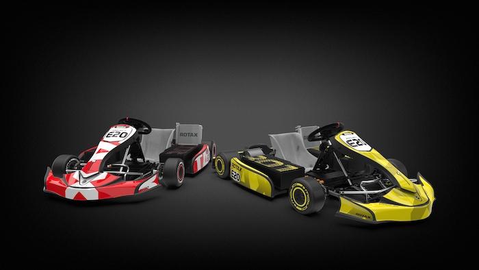 BRP-Rotax rivela il nuovo progetto e-kart E20