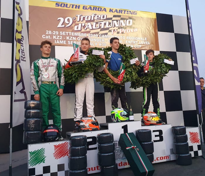 IAME SERIES, ROUND 8 | NEWMAN Motorsport and Marco Ravera take fourth place in the championship. Positive debut for Olivieri, Bucci, Silvaggi and Paniccià