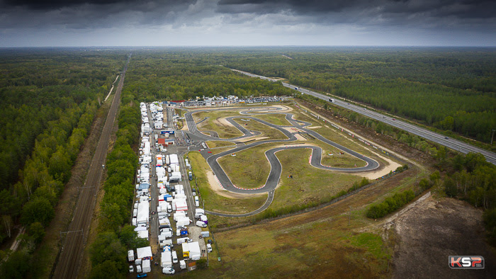 FFSA Karting: tough conditions at Salbris