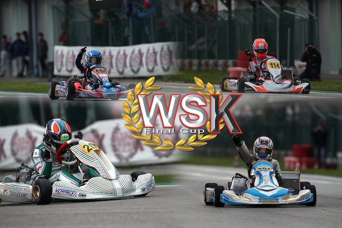 Gare finali alla WSK Final Cup di Adria (RO)