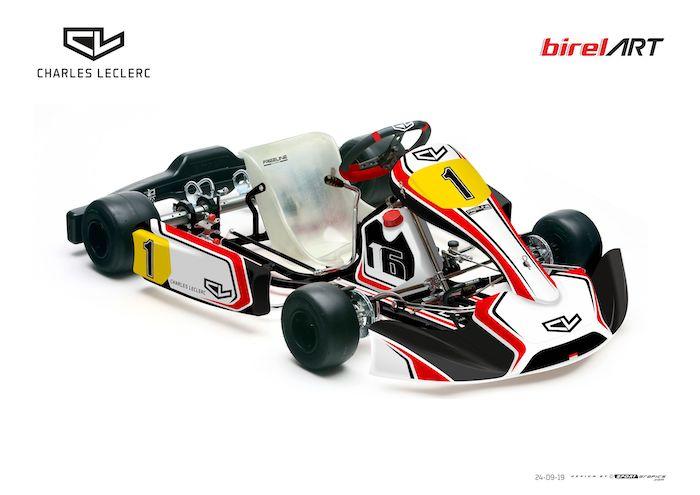 Charles Leclerc lanza su gama de chasis!