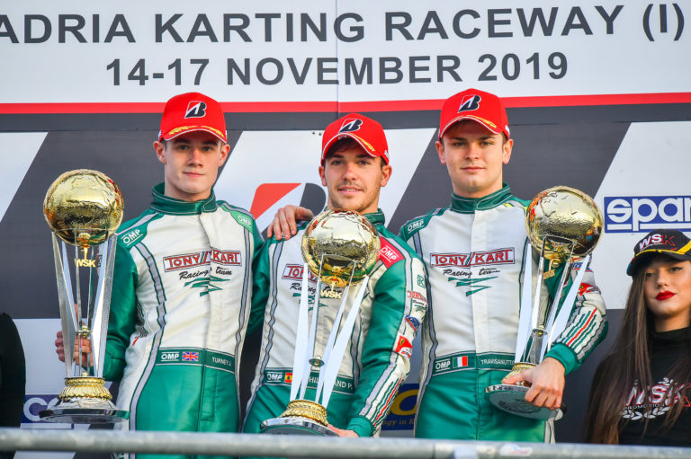 OK: Hiltbrand returns to the top in WSK Final Cup