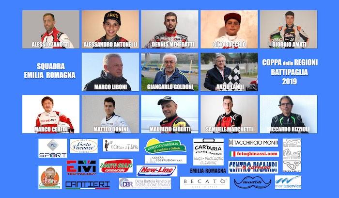 Emilia Romagna alla Coppa delle Regioni 2019