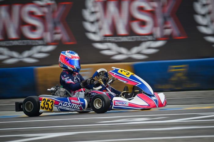 Kosmic Kart – Goles final de la temporada en la WSK Final Cup
