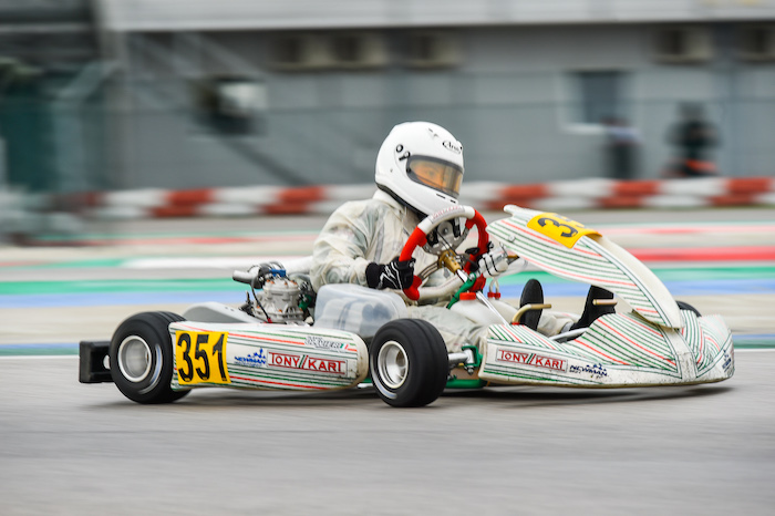 "Newman Motorsport and Flavio Olivieri in the final in the WSK Final Cup OKJ. Pedrini ""Next challenge: Champions Cup in Zuera"""