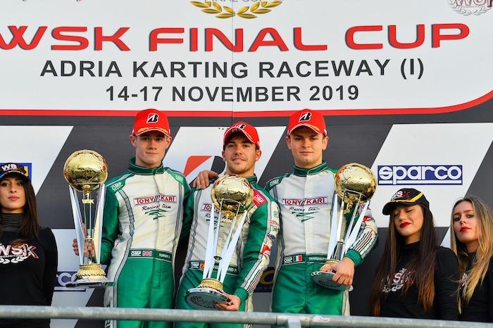 Hiltbrand guida un podio tutto Tony Kart