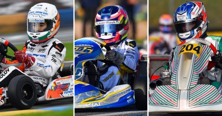 WSK Open Cup: Turney (OK), Stenshorne (OKJ) e Tsolov (Mini) dominano a Castelletto