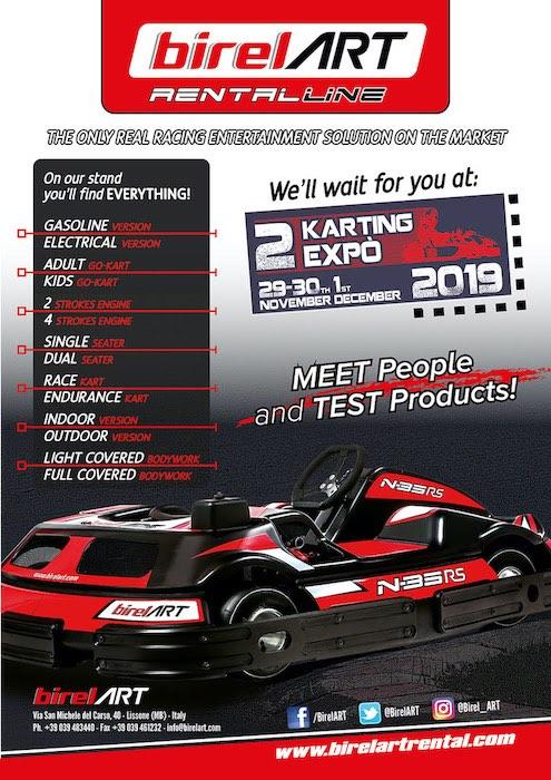 BirelART ti aspetta alla seconda edizione dell'Adria Karting Expo