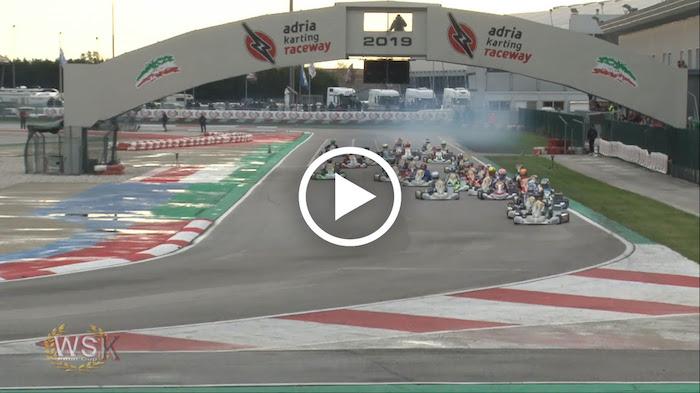 WSK Final Cup – Los videos: el resumen del weekend de carreras en Adria (I)