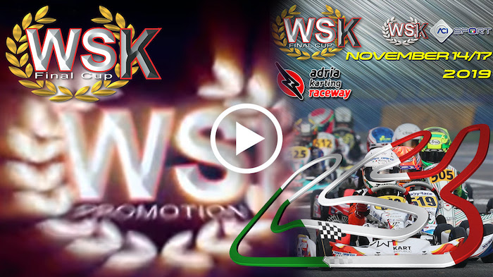 the video footage of the WSK Final Cup – Adria Karting Raceway