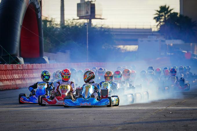 Jak Crawford lidera la mayoría de las vueltas en el evento principal de SuperNationals luego cae víctima de las carreras agresivas