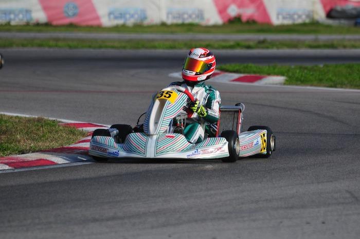 Trofeo Senna | NEWMAN Motorsport y D'Auria se imponen en OKJ. Petrovic y Bucci en evidencia en X30 Junior