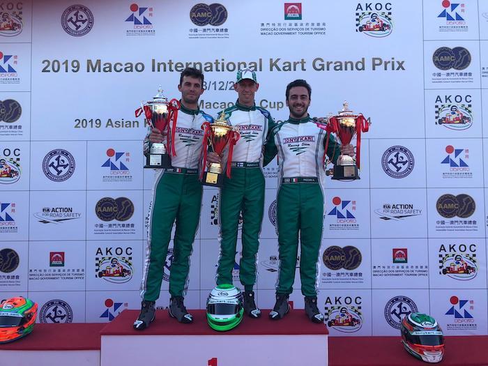Tony Kart rules over Macao