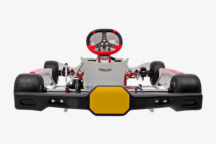 Rotax DD2 chassis with CIK-FIA homologated rear bumper for FIA karting calendar 2020 events