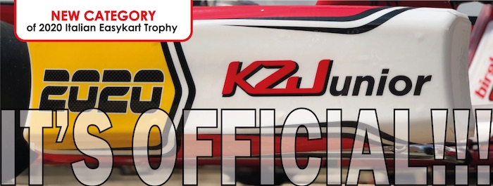 The KZ Junior will be a new category of the 2020 Italian Easykart Trophy.