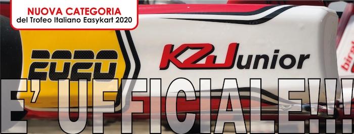 La KZ Junior sarà una nuova categoria del Trofeo Italiano Easykart 2020