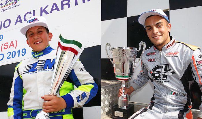 I Campioni Italiani ROK premiati a Monza
