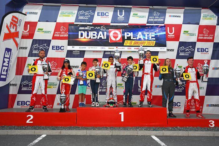 Le stelle degli Emirati brillano nel Dubai O-Plate 2020