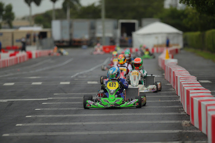 TB Kart USA scores podium result and three top-five Finishes at Florida Winter Tour