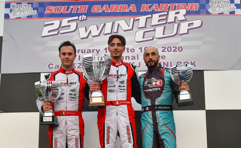 Winter Cup – KZ2: Giuseppe Palomba wins the duel with Riccardo Longhi
