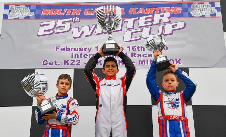 Winter Cup – Mini Rok: Rashid Al Dhaheri clinches his first 2020 win