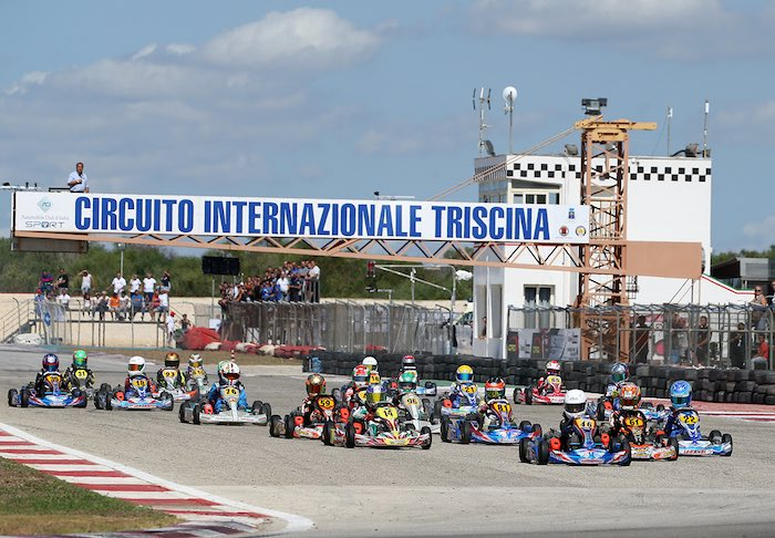 On April 5th in Triscina the opening of the Italian ACI Karting 2020 Championship