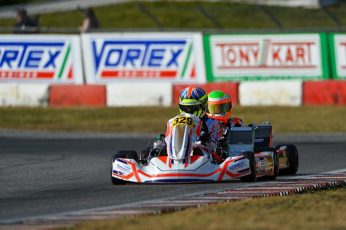 Exprit Kart – Good performance but bad luck in Lonato