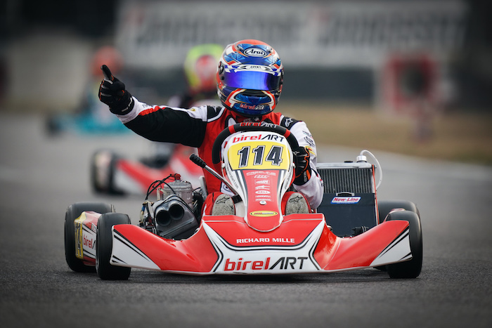 Birel Art – Double win at the Winter Cup