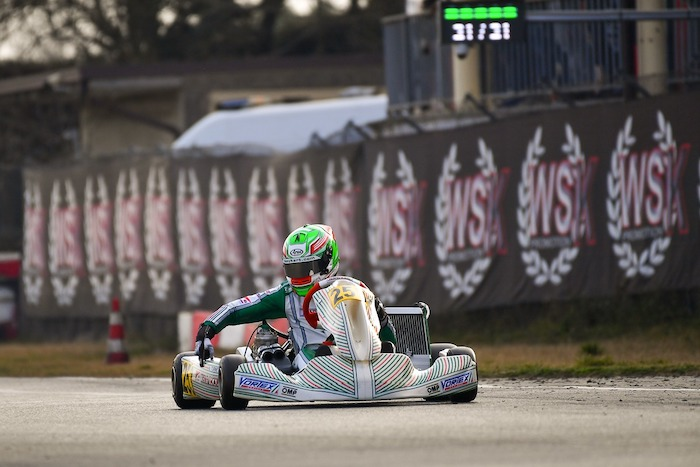 Tony Kart – Second victory at the WSK Super Master Series