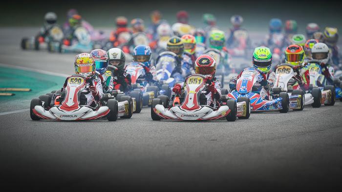 Parolin Racing Kart – Performance al top e podio nella Mini per Khavalkin