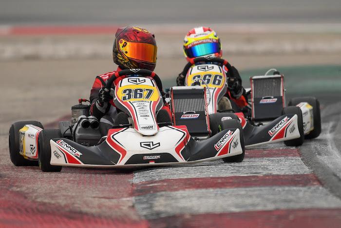 Buena velocidad para el debut del team Leclerc By Lennox Racing