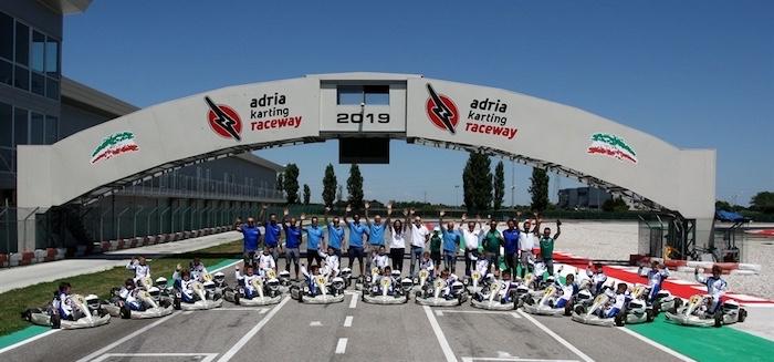 El séptimo Summer Camp de karts de la ACI Sport Federal School se duplica. Dos sesiones en el Adria International Raceway del 5 al 9 de julio de 2020.