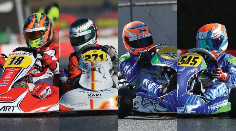 WSK Super Master Series, Lonato: qualifiche – Pole position per Irlando (KZ2), Trulli (OK), Badoer (OKJ), Kastelic (Mini)