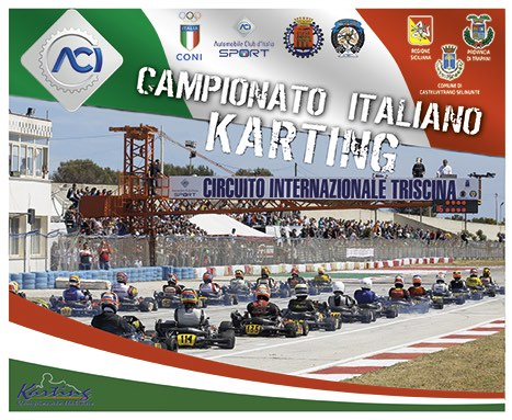 The test of the Italian ACI Karting Championship in Triscina (Trapani) postponed to 31 May