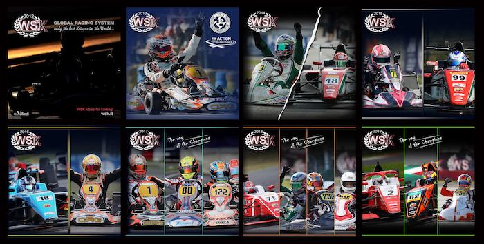Online all WSK Promotion yearbooks since 2012, on Issuu