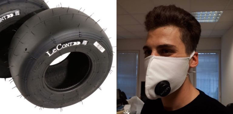 LeCont está equipado para la producción de máscaras.