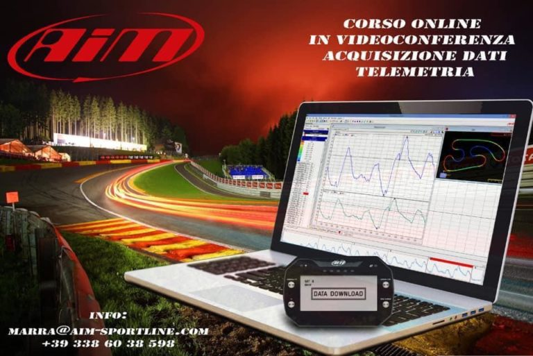Online course on data acquisition and telemetry by Marra61 Kart Racing Team