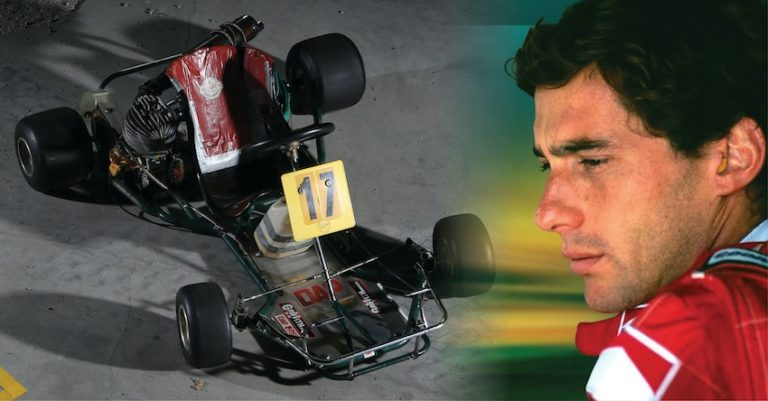 L'indimenticabile carriera in kart di Ayrton Senna