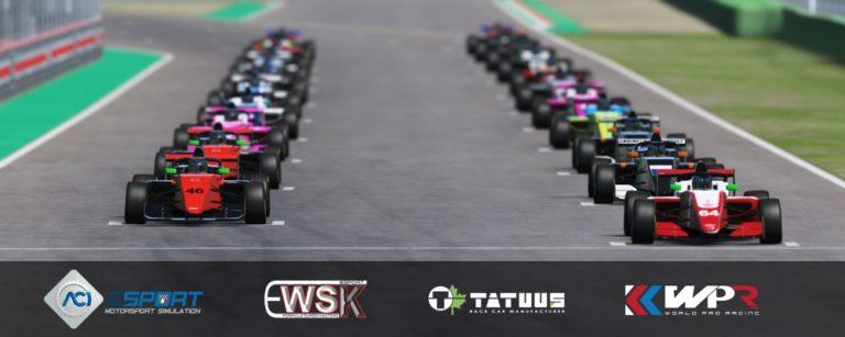 WSK Promotion e Tatuus Racing in collaborazione con World Pro Racing e ACI Sport ti presentano la F3 Ragional e F4 EWSK Formula Super Master!