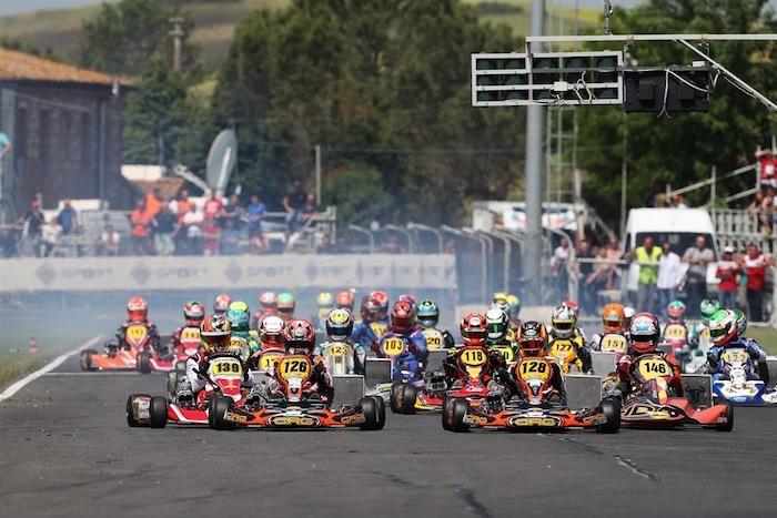 El nuevo calendario del Campeonato Italiano de Karting ACI es oficial. El inicio en Sicilia el 9 de agosto