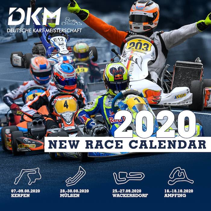 DKM starts 2020 with four races