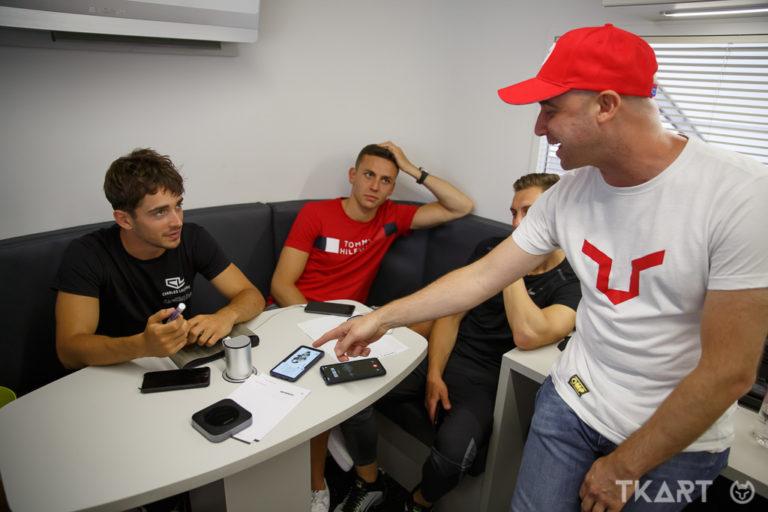 Quattro chiacchiere con Charles Leclerc, tra kart, rivalità e Formula 1