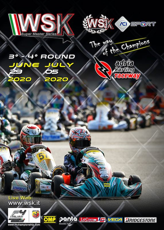 International Karting resumes from WSK Super Master Series in Adria