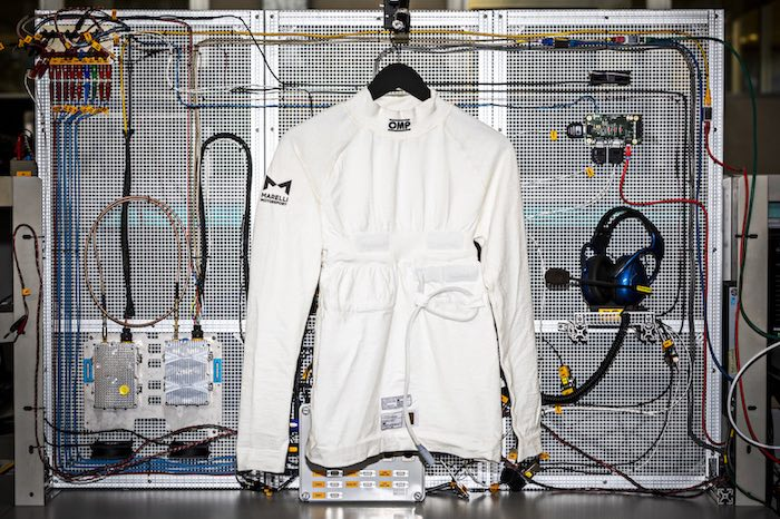 OMP Racing e Marelli presentano VISM La maglia biometrica che misura i parametri vitali dei piloti