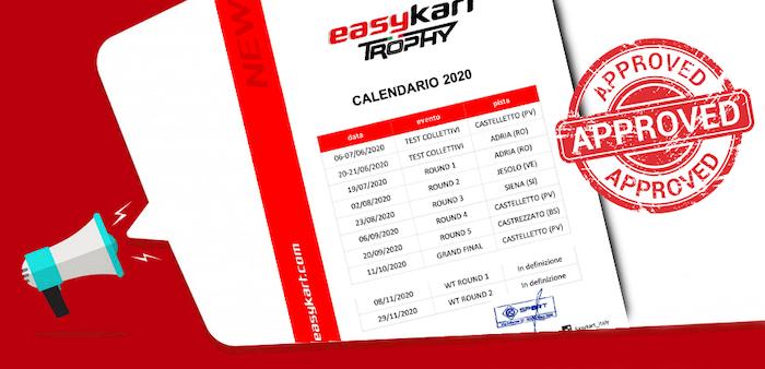 Easykart – La stagione 2020 partirà il 19 luglio all'Adria International Raceway